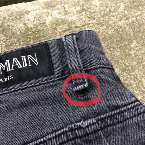 Balmain Gray Balmain Skinny Jeans Size US 27 - 14