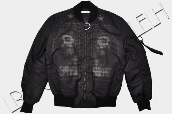 Givenchy 3500$ Black Jesus Print Bomber Jacket Size US M / EU 48-50 / 2 - 4