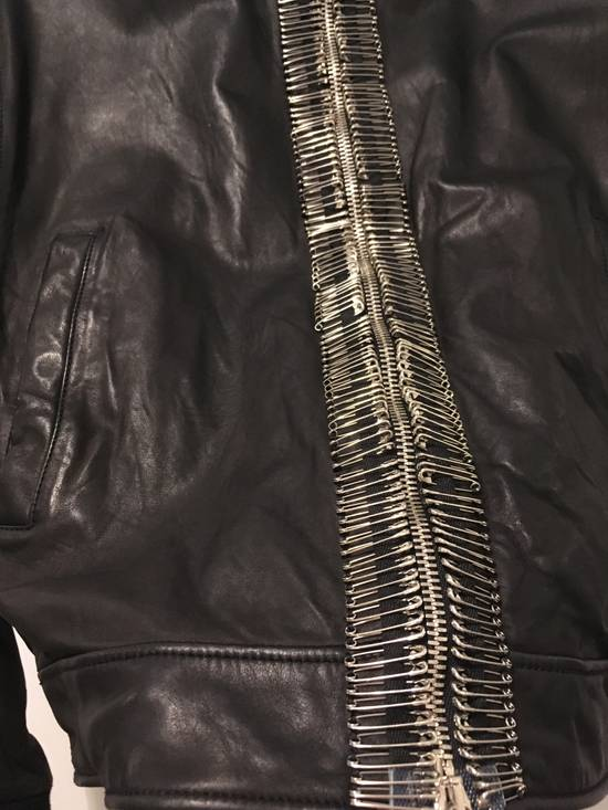 Balmain Safety Pin Biker Jacket Size US S / EU 44-46 / 1 - 4