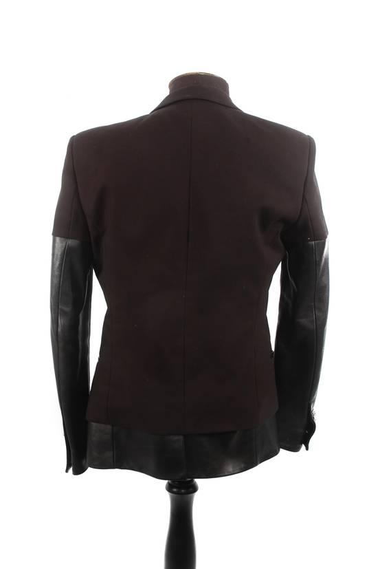 Balmain Balmain Black Leather Sleeve Blazer Size US S / EU 44-46 / 1 - 3