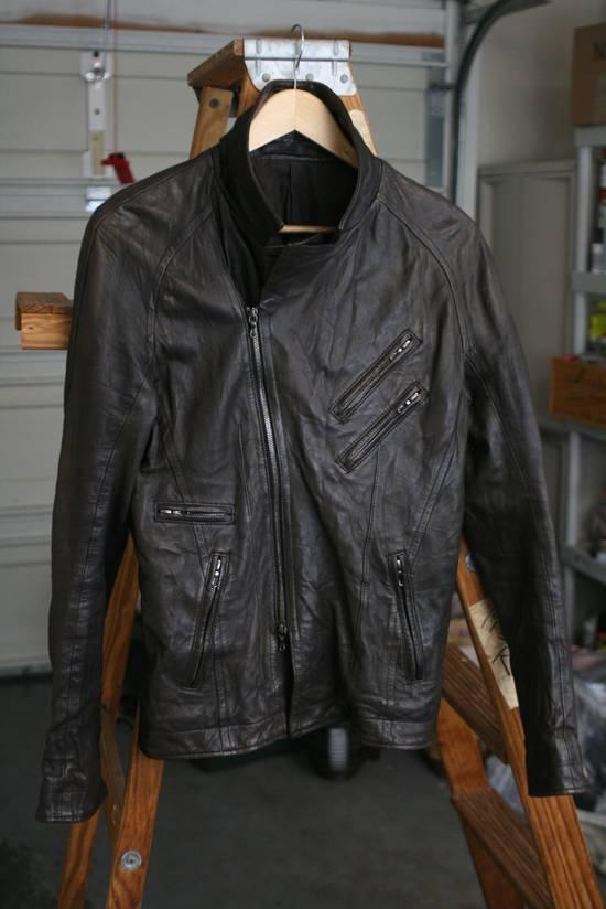 Julius LAST DROP: SS09 Lambskin Double Rider Size US M / EU 48-50 / 2