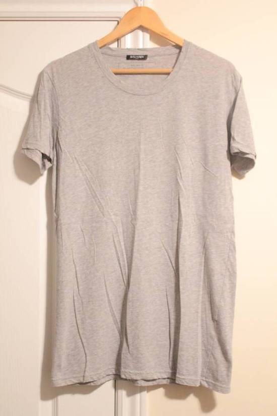 Balmain Rare 2013 Long T-Shirt Grey Made In France Size US S / EU 44-46 / 1 - 1
