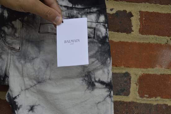 Balmain Black Tie Dye Shorts Size US 30 / EU 46 - 4