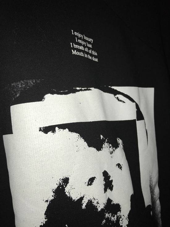 Julius Knives size 1 printed sweatshirt with kangaroo pocket and large sleeves Size US S / EU 44-46 / 1 - 3