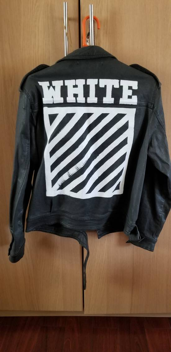 Off-White Belted Denim Jacket Size US M / EU 48-50 / 2