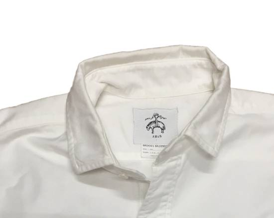 Thom Browne Spread Collar Broadcloth BB2 - New Size US M / EU 48-50 / 2 - 2