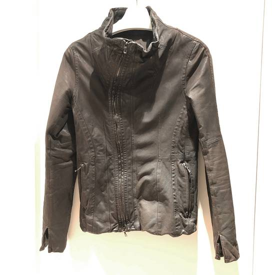 Julius Julius Goat Skin Leather Jacket Size US S / EU 44-46 / 1 - 1