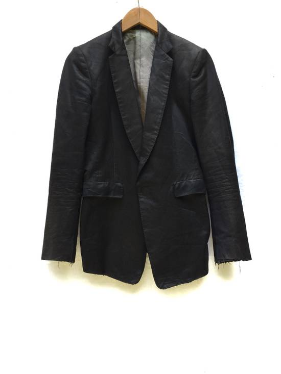 Julius Distressed Minimalist asymmetric Julius 08 autumn and winter collection Blazer//made in Japan//size 1 Size US S / EU 44-46 / 1