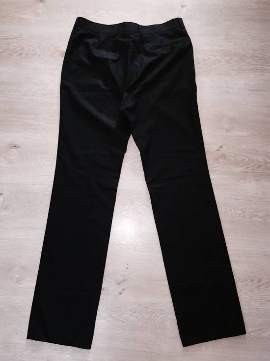 Vintage GIANNI VERSACE Couture pre 1993 Year Vintage Black Wool Pants 52 IT Rare Designer Luxury Made In Italy Casual trousers 1990's 2pac Notorious Russian Mafia Size US 36 / EU 52 - 4