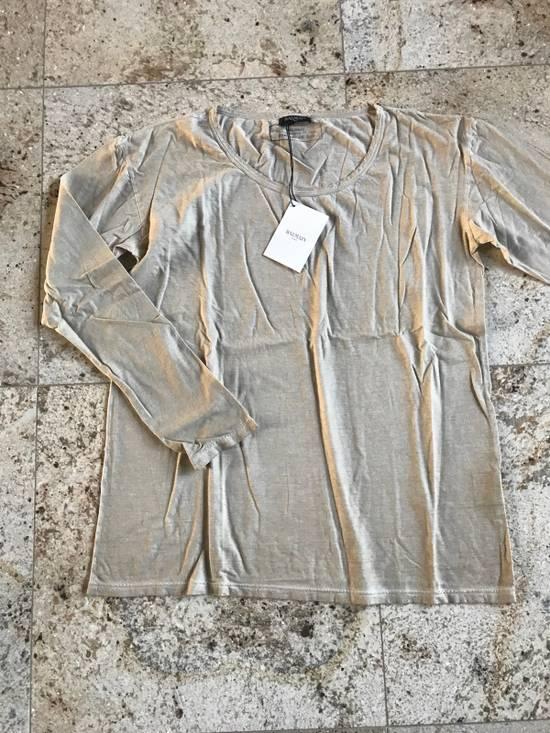 Balmain Distressed Khaki LS Tes Size US XL / EU 56 / 4 - 2