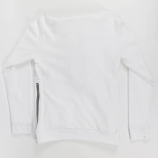 Balmain White Cotton Hooded Sweatshirt Size S Size US S / EU 44-46 / 1 - 1