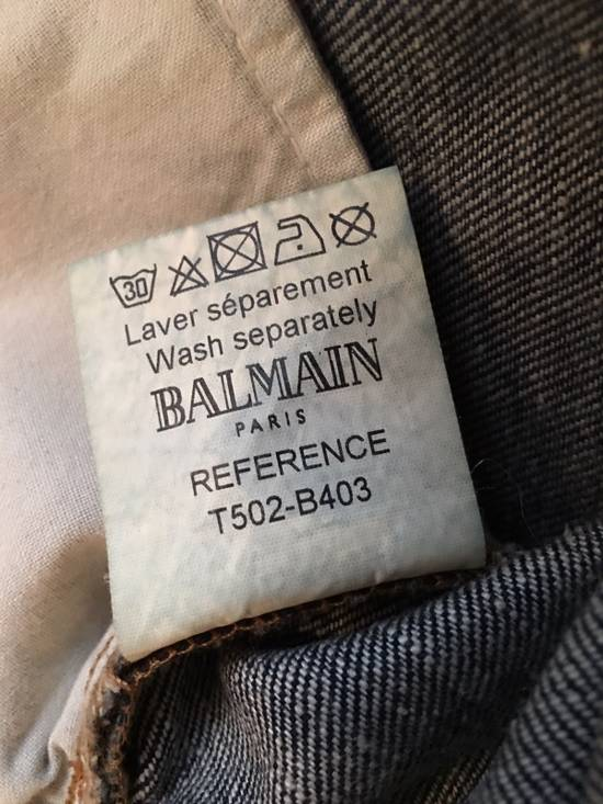 Balmain Old Model Made In Italy Biker Jeans Size US 31 - 3