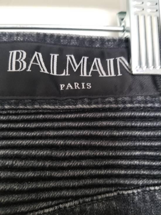 Balmain Balmain Biker Grey Washed Jeans Size 29 Size US 29 - 7