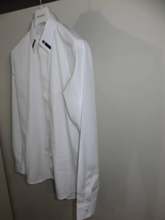 Givenchy Embroidered stars collar shirt Size US XL / EU 56 / 4 - 1