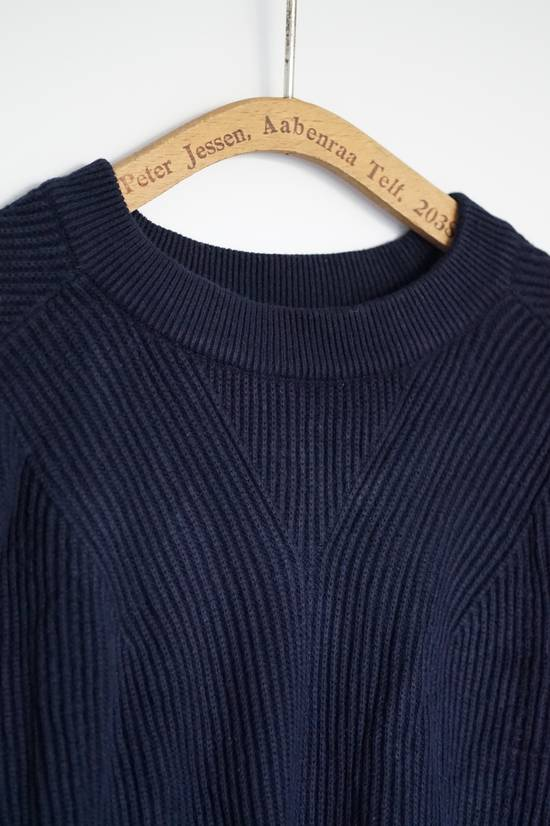 Thom Browne Blue Striped Ribbed-Knit Cotton Sweater Size US M / EU 48-50 / 2 - 5