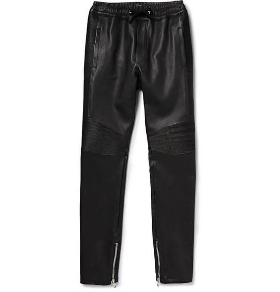 Balmain Leather Bikers Size US 32 / EU 48