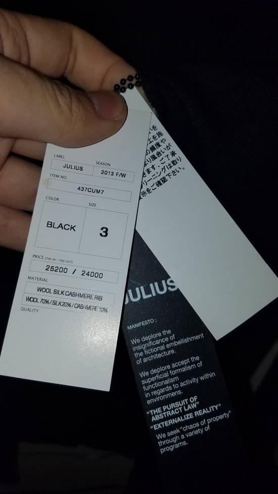 Julius Brand New Wool Silk Cashmere Knit Sweater Black Size US M / EU 48-50 / 2 - 8
