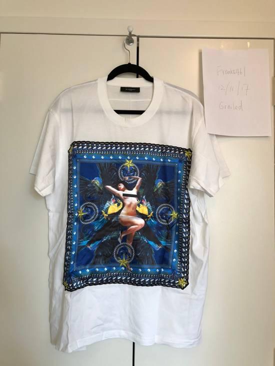 Givenchy Oversized Nude Women Tee Silk Print Size US S / EU 44-46 / 1