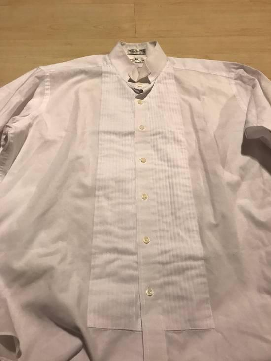 Balmain White Tux Button Up Shirt Size US L / EU 52-54 / 3 - 2