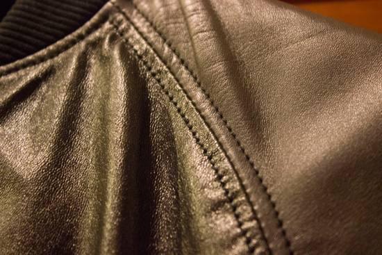 Balmain Leather Bomber Size US S / EU 44-46 / 1 - 16
