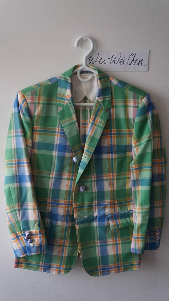 Thom Browne 13ss madras runway blazer Size 50S