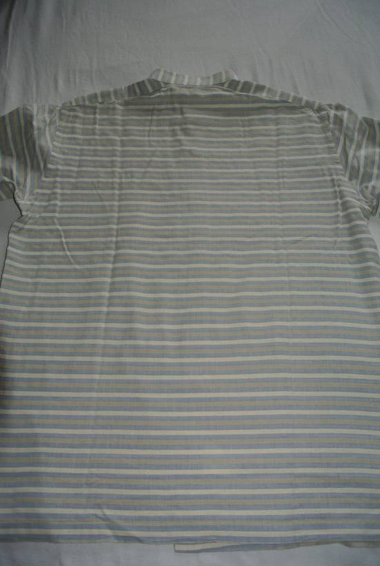 Balmain Balmain vintage 90's shirt Stripes stripped Grey Beige cream made in Japan size XS Size US XS / EU 42 / 0 - 5