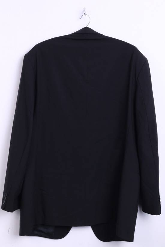 Balmain BALMAIN Paris Mens 46 Blazer Top Suit Black Regular Wool Single Breasted 6860 Size 46R - 5