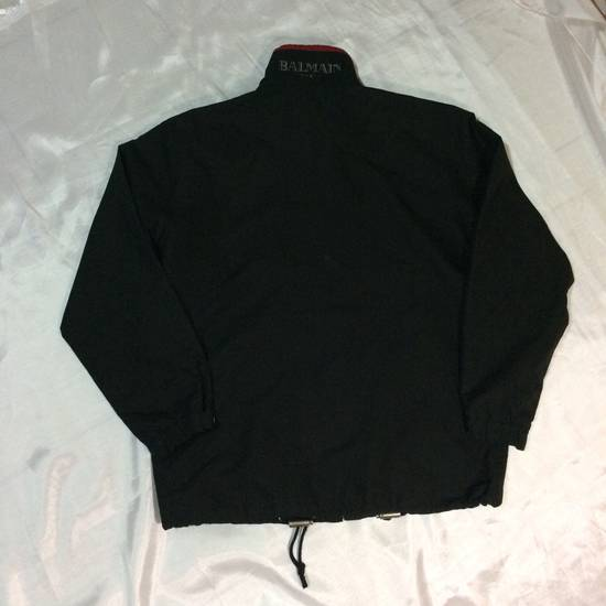 Balmain Balmain Full Zip Big Logo Windbreaker Jacket Size US L / EU 52-54 / 3 - 5