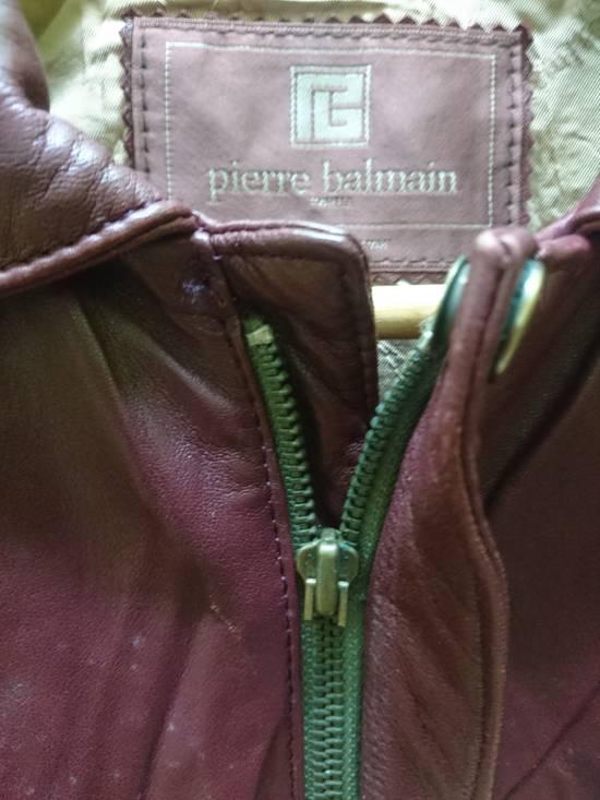 Balmain Pierre bailmain leather two tone colour jacket Size US L / EU 52-54 / 3 - 2