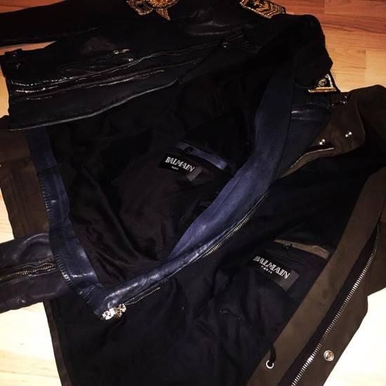 Balmain LAST DROP**Balmain Navy Biker Jacket Size US M / EU 48-50 / 2 - 2