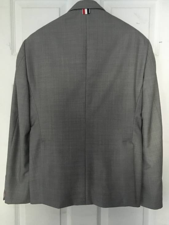 Thom Browne Classic Gray Houndstooth Suit Size 36R - 1