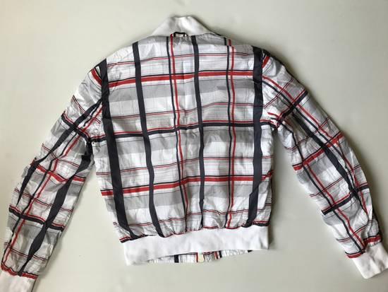 Thom Browne Check Pattern Stadium Jacket Size US S / EU 44-46 / 1 - 5
