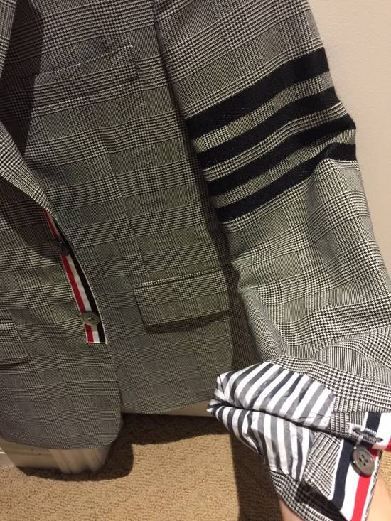 Thom Browne Rare Black Arm Stripe Blazer Size 38R - 2