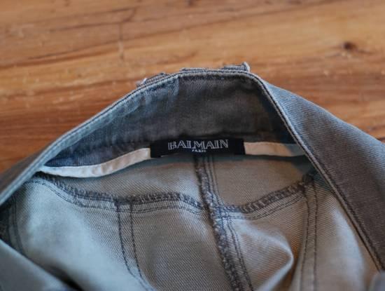 Balmain Stretch Denim Cotton Biker Jeans Size US 26 / EU 42 - 4