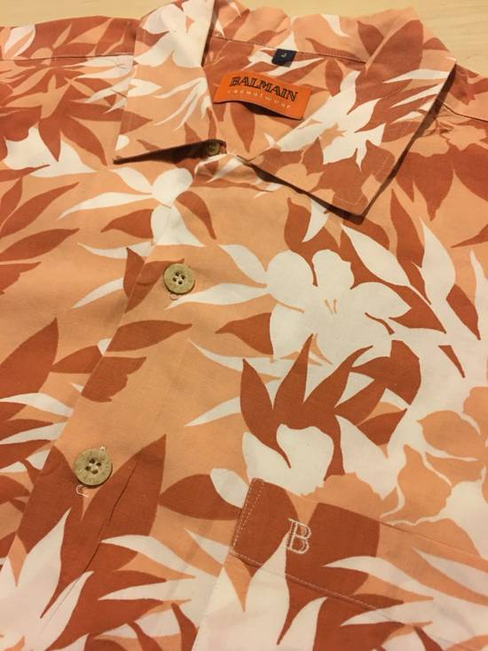 Balmain Floral Print Button Up Shirt Size US XL / EU 56 / 4 - 2