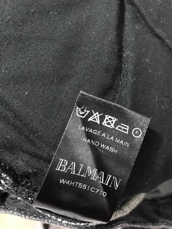 Balmain Black Biker Jeans Size US 31 - 2