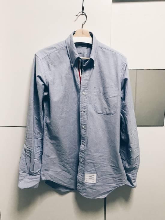 Thom Browne OCBD Blue Size 3 Size US L / EU 52-54 / 3 - 1