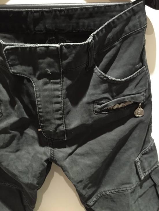 Balmain Military Biker Jeans Size US 30 / EU 46 - 3
