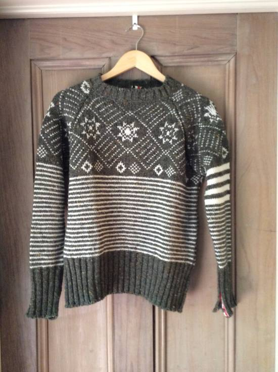 Thom Browne Ireland - fair isle 4 bar Size US S / EU 44-46 / 1