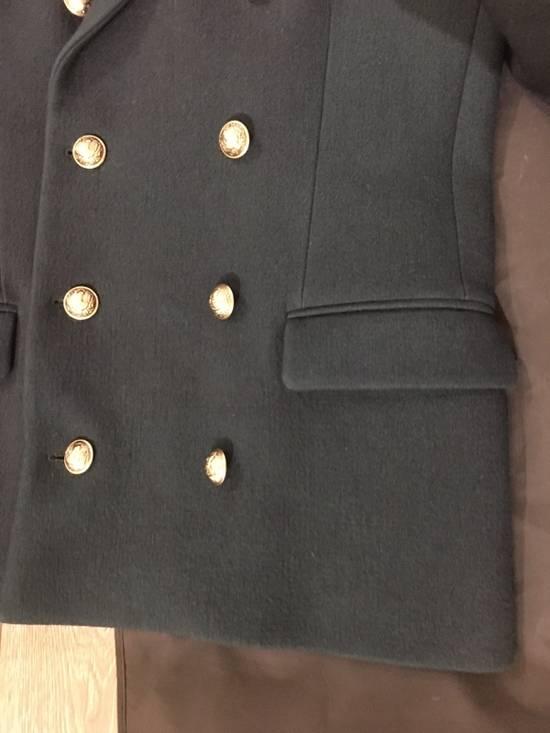 Balmain Badge-embellished Wool Military Jacket Size US M / EU 48-50 / 2 - 3