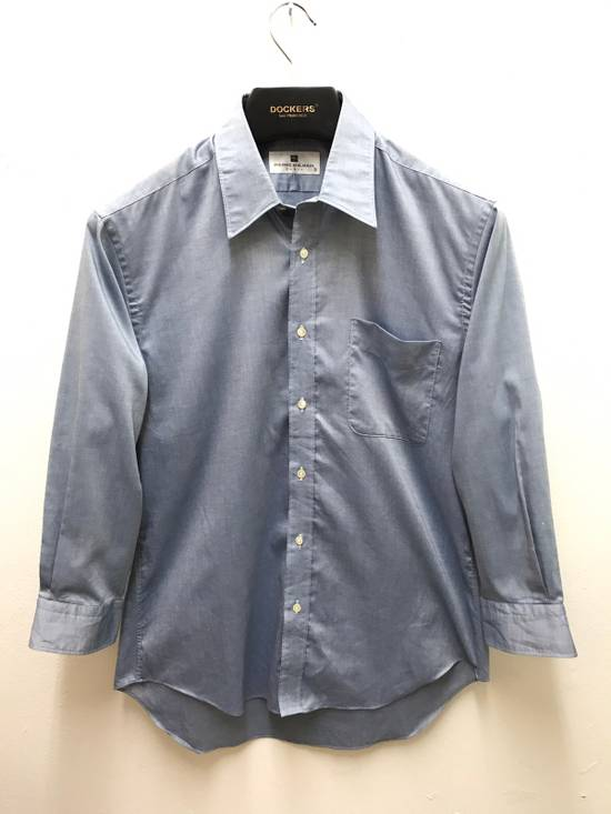 Balmain Pierre Balmain Paris Plain Button up Shirt Made in Japan Size US M / EU 48-50 / 2