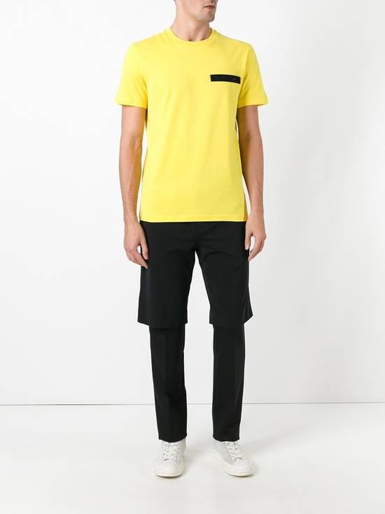Givenchy Yellow Logo Plaque T-shirt Size US L / EU 52-54 / 3 - 2