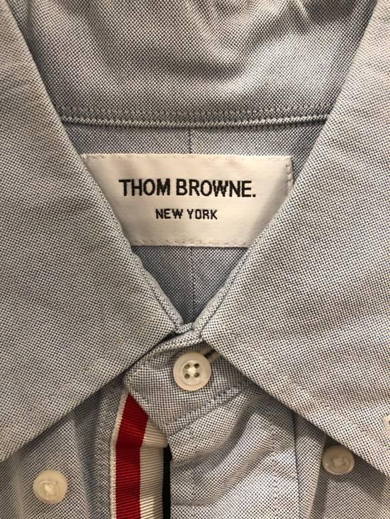 Thom Browne Blue Grosgrain Oxford Shirt Size US S / EU 44-46 / 1 - 1