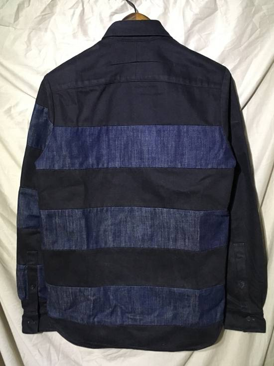 Givenchy FW12 STRIPE DENIM SHIRT Size US XS / EU 42 / 0 - 2