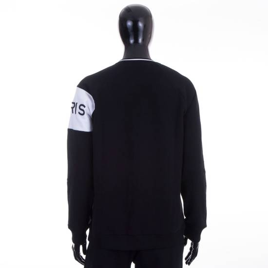 Givenchy Black Givenchy Paris 4G Embroidered Sweatshirt Size US M / EU 48-50 / 2 - 3