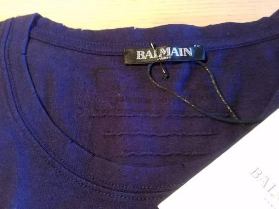 Balmain $650 Balmain Mens Medium (3)Three Pack Wool Teeshirts Blue/ Green/ Gray Italy Size US M / EU 48-50 / 2 - 2