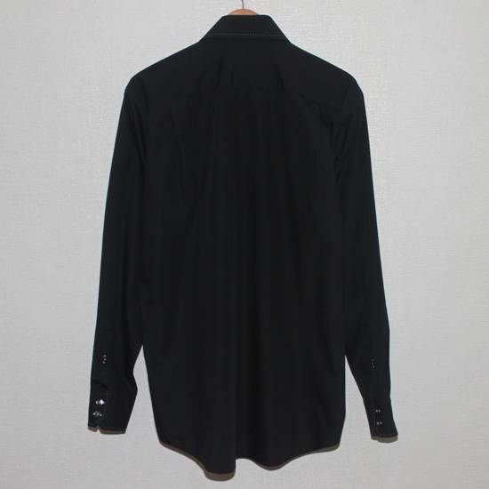 Balmain Vintage Balmain Paris Free Shipping Men's Longsleeve Button Shirt Black Size Fit Like L Cotton Size US L / EU 52-54 / 3 - 2