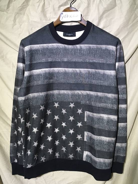 Givenchy FW13 AMERICAN FLAG SWEATSHIRT Size US XS / EU 42 / 0