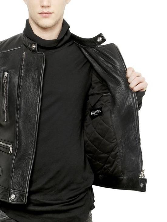 Balmain Lambakin Leather Jacket Size US M / EU 48-50 / 2 - 1