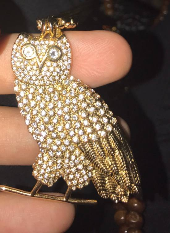 Octobers Very Own Drake Crew Only Exclusive OVO Gold Diamond Owl Pendant Necklace Chain October's Very Own Limited Edition Revenge More Life Friends and Family Size ONE SIZE